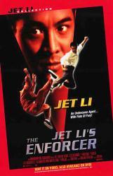 Jet Li's The Enforcer movie poster [Jet Li] 26x40 video version