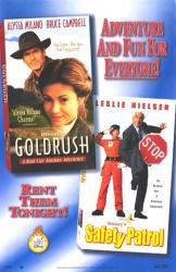 Gold Rush/Safety Patrol movie poster [Alyssa Milano & Leslie Nielsen]