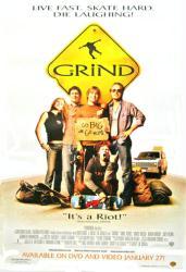 Grind movie poster [Jason London & Adam Brody] NM video poster