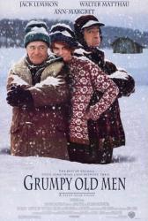Grumpy Old Men movie poster [Jack Lemmon/Walter Matthau/Ann-Margret]VG