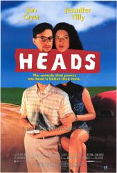 Heads movie poster [Jon Cryer, Jennifer Tilly] 27x40