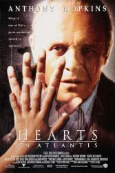 Hearts In Atlantis movie poster [Anthony Hopkins] 27x40 video NM