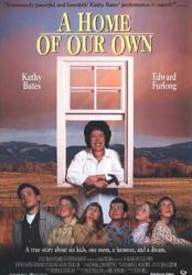 A Home of Our Own movie poster [Kathy Bates, Edward Furlong] 27x40
