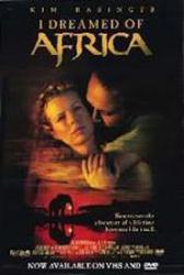 I Dreamed of Africa movie poster [Kim Basinger] 27x40 video version
