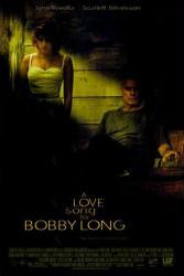 A Love Song for Bobby Long movie poster [Travolta, Johansson] VG 27x40
