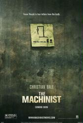 The Machinist movie poster (2004) original 27x40 advance