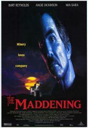 The Maddening movie poster [Burt Reynolds] video poster/VG