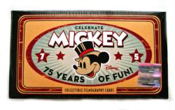 Mickey Mouse: 75 Years of Fun Filmography Cards set (Upper Deck/2004)