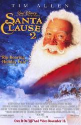 The Santa Clause 2 movie poster [Tim Allen] video version