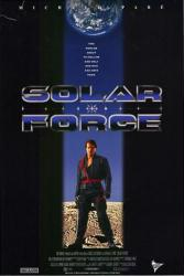Solar Force movie poster (aka Lunarcop) [Michael Pare] video poster/VG