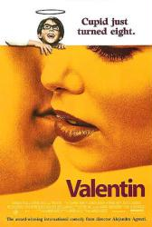 Valentin movie poster [a film by Alejandro Agresti] 27x40