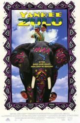 Yankee Zulu movie poster (1993) 27x40 video version