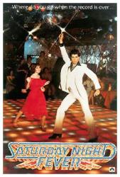 Saturday Night Fever movie poster (1977) [John Travolta] 27'' X 40''