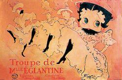 Betty Boop poster: Can Can (36'' X 24'' Poster)