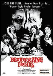 Bloodsucking Freaks movie poster [Incredible Torture Show] 25'' X 36''