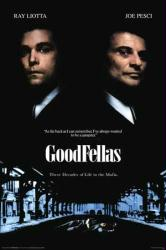 Goodfellas movie poster [Ray Liotta, Joe Pesci] Scorsese (24x36)
