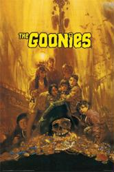 The Goonies movie poster [Sean Astin, Feldman, Josh Brolin] 24x36
