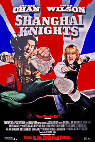 Shanghai Knights Movie Poster Jackie Chan Owen Wilson Video Poster