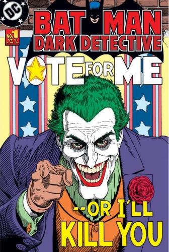 Batman Poster The Joker Vote For Me Comic Book Cover 24x36