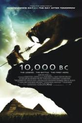 10,000 B.C. movie poster (2008] original 27 X 40 one-sheet