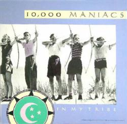 10,000 Maniacs poster: In My Tribe vintage LP/Album flat