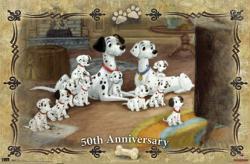 101 Dalmatians movie poster [50th Anniversary] Walt Disney