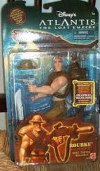 Atlantis: The Lost Empire [Disney] 7'' Rourke figure (Mattel/2001)