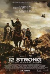 12 Strong movie poster [Chris Hemsworth, Michael Shannon] 27x40