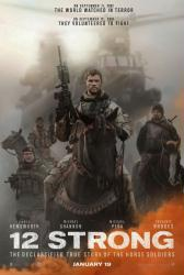 12 Strong movie poster [Chris Hemsworth, Michael Pena] 27x40 advance