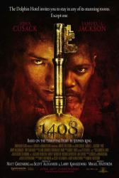 1408 movie poster [John Cusack/Samuel L. Jackson] 27 X 40 Stephen King
