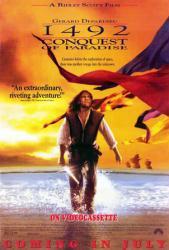 1492: Conquest of Paradise movie poster [Gerard Depardieu] 27 X 40