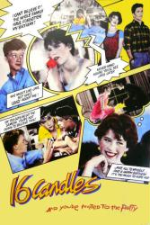 Sixteen Candles movie poster [Molly Ringwald] 24x36