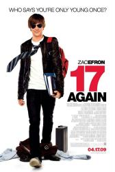 17 Again movie poster [Zac Efron] 2009 one-sheet 27 X 40