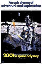 2001: A Space Odyssey movie poster [a Stanley Kubrick film] 24x36