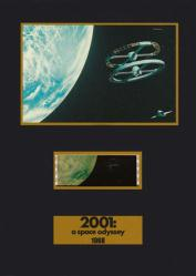 2001: A Space Odyssey 5 1/4'' X 7 1/4'' Senitype film cell [Kubrick]