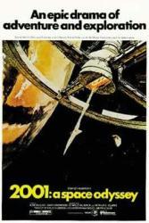 2001: A Space Odyssey movie poster [Stanley Kubrick] 27'' X 40''