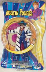 Austin Powers In Goldmember: 70's Austin Powers action figure (Mezco)