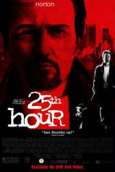 25th Hour movie poster [Edward Norton] 26x40 video version
