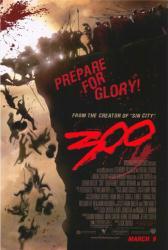 300 movie poster (advance teaser) 27x40