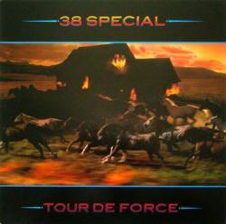 38 Special poster: Tour De Force vintage LP/Album flat