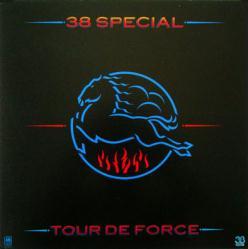 38 Special poster: Tour De Force vintage LP/Album flat (Horse Logo)