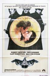 Three Days of the Condor poster [Robert Redford, Faye Dunaway] 27x41