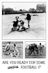 Three Stooges poster: Are You Ready for Some Football? (24'' X 36'')