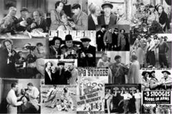 The Three Stooges poster: Collage (36'' X 24'') 3 Stooges