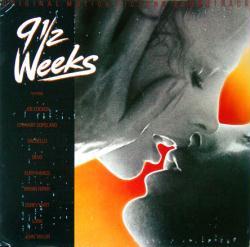 9 1/2 Weeks soundtrack poster: Vintage LP/Album flat (1986)