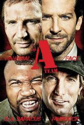 The A-Team movie poster (2010) [Liam Neeson & Bradley Cooper] Advance