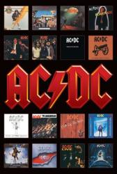 AC/DC poster: Album Covers Discography (24x36)