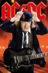 AC/DC poster: Angus Young (24x36) Horns