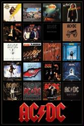 AC/DC poster: Discography/Album Covers (24x36)