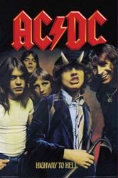 AC/DC poster: Highway to Hell (24x36) album cover art